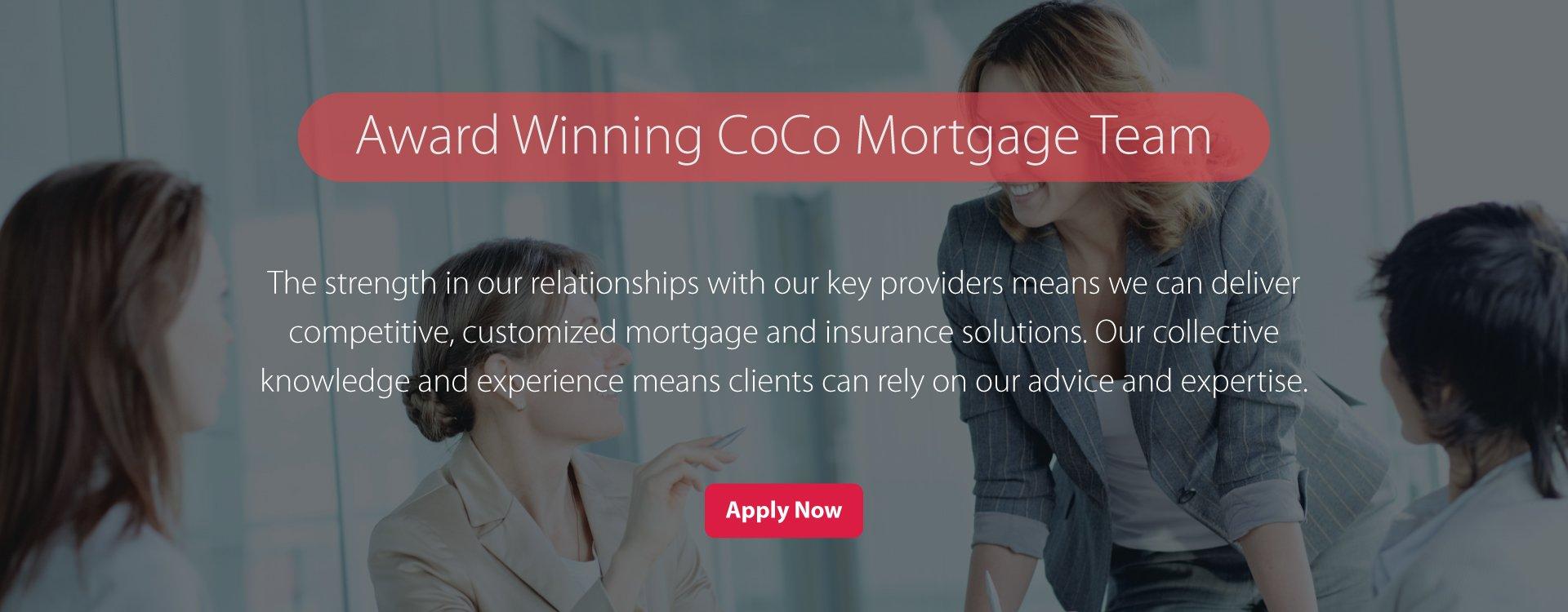 CoCo Mortgage Award Winning Team